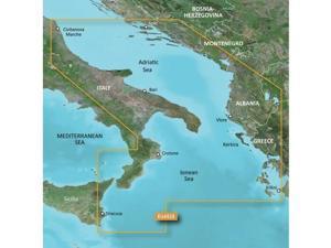 Garmin 010-C0797-00  VEU453S - Adriatic Sea, South Coast - SD Card