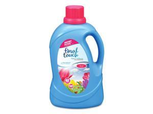Final Touch® Scented Fabric Softener, Spring Fresh, 134 oz Bottle, 4/Carton