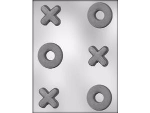X and O Valentine Chocolate Candy Mold from CK #1655