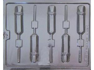Pencils Lollipop Chocolate Candy Mold from Life of the Party #K-109 - NEW