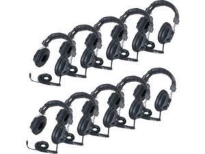 Califone 3068AV-10L Switchable Headphones Classpack (3068av10l)