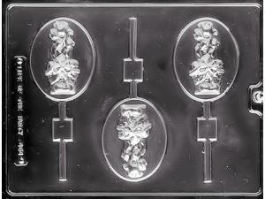 Easter Basket Lollipop Chocolate Candy Mold from Life of the Party E464 NEW
