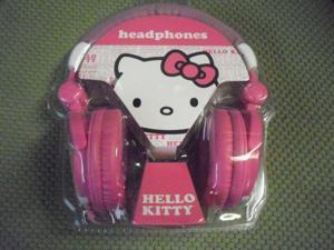 Hello Kitty Headband Headphones - Pink with Bonus Nice Christmas Gift  HK-10809