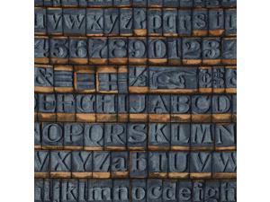 Tim Holtz PWTH038 Wallflower Stone Slate Cotton Fabric By Yard