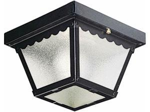 Progress Lighting P5727-31 Traditional One Light Ceiling Mount Collection Black