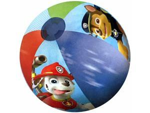 Nickelodeon Paw Patrol Kids Beach Toys Inflatable 13.5 Inch Beach Ball - Red