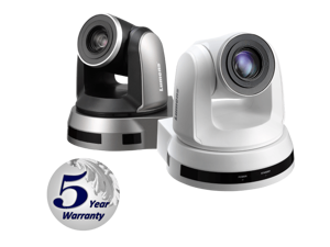 Lumens VC-A50PB 20x Optical Zoom, 1080p Hi-Definition PTZ IP Camera, 60fps Black