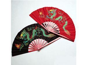 Bamboo Dragon Tai Chi Kung Fu Fighting Fans