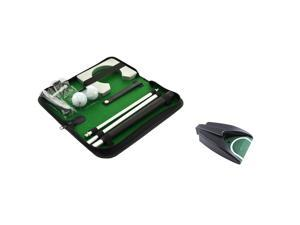 Posma PG020A Bundle set Portable Golf Putter Set Kit with Golf Automatic Putting Cup(1pc) + Ball Hole-Cup for Travel Indoor Golf Putting (1 set)