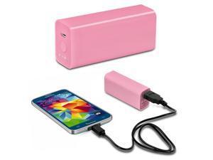 POWEROCKS 307439 Stone 3000mAh Universal Extended Battery, Pink