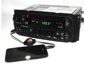 Dodge Chrysler Jeep 98-02 AM FM CD Cassette w Bluetooth Music P04858540 Twin RAZ