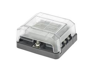Kimpex Modular Fuse Block Cover w/ 6 Circuits Terminals Fuse Holder LED Marine
