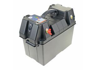 Kimpex Battery Box Power Station w/ USB Port High Impact Sturdy Handles Boat