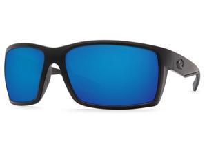 Costa Del Mar Reefton RFT 01 Blackout Sunglasses Blue Mirror Lens 580P