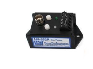 NV-652R Dual Twisted Wire CCTV Video Balun Transceiver Black