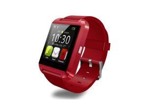 da0dfe67d U8 Bluetooth Smart Wrist Watch Phone Mate For IOS Android Samsung iPhone HTC  Red