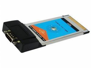 PCMCIA RS232 Notebook Serial I/O PC Card