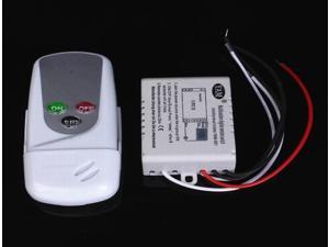 AC110V Wireless 1 Channel ON/OFF Light Lamp Remote Control Switch