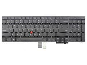 New laptop replacement keyboard for Lenovo ThinkPad E560 E560c series US layout Black color