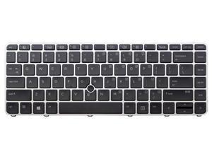 New Laptop backlit keyboard for HP EliteBook 745 G3 840 G3 US layout Black Color