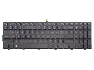 Laptop backlit keyboard for Dell Inspiron 15 5000 Series 15 5542 5543 5545 5547 5548 US layout Black color