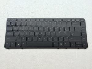 New laptop keyboard replacement for HP EliteBook 840 G1 850 G1 HP ZBook 14 Mobile Workstation Series US layout black FRAMES 840 G1