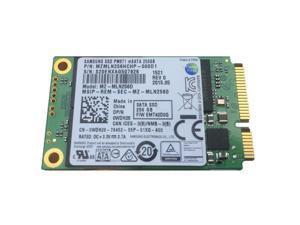 Samsung  PM871 mSATA 256GB MZMLN256HCHP-000D1 MZ-MLN256D Solid State Drive SSD