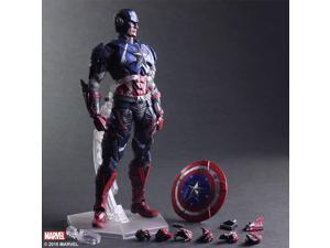 Action Figure - Marvel - Captain America Variant Play Arts Kai