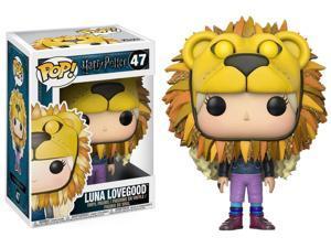 Harry Potter Luna Lovegood Lion Head Pop! Vinyl Figure #47