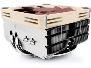 Noctua NH-L9x65 SE-AM4, Premium Low-profile CPU Cooler with 92mm Fan for AMD AM4 (Brown)