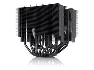 Noctua NH-D15S chromax.black, Premium Dual-Tower CPU Cooler with NF-A15 PWM 140mm Fan (Black)