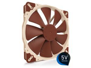 Noctua NF-A20 5V, Premium Quiet Fan with USB Power Adaptor Cable, 3-Pin, 5V Version (200x30mm, Brown)