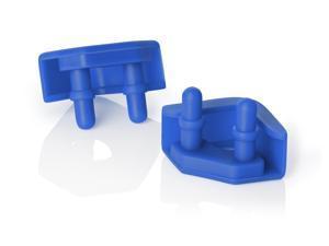 Noctua NA-SAVP5 chromax.blue, Anti-Vibration Pads for 92mm & 80mm Noctua Fans (16-pack, Blue)
