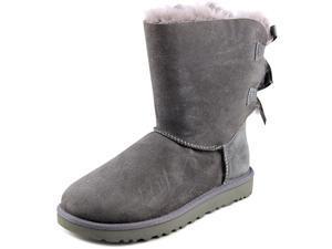 Ugg Australia Bailey Bow II Women US 7 Gray Winter Boot