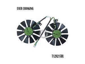 87MM T129215BU T129215SU Graphics Card Fan for ASUS ROG STRIX DUAL GTX 1070 GTX 1060 / RX 470/570/580 RX570 RX580 RTX2060