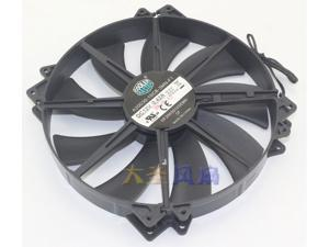 Original cooler master A20030-10CB-3MN-F1 DF2003012SEMN 20CM 12V 1100RPM Silent Fan for Computer Cases  side plate fan