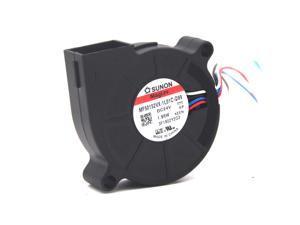 Sunon MF50152VX-1L01C-Q99 MF50152VX-1L01C-s99 5015 DC 24v 1.95W PWM blower 6000RPM 4.8CFM 4wire lead Cooling fan