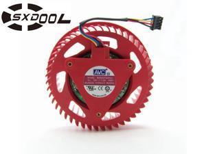 BASA0725R2U DC 12V 1.2A 75mm 7.5cm  ATI Radeon HD4870 5870 HD5850 5970 HD6970 Graphic Card Fan case cooling fan round cooler