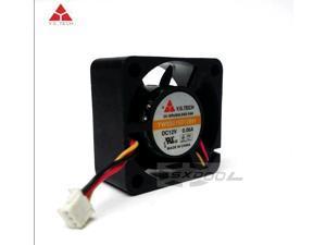 NEW Y.S.TECH 3cm YW03015012BH DC12V 0.06A hard disk box graphics cooling fan
