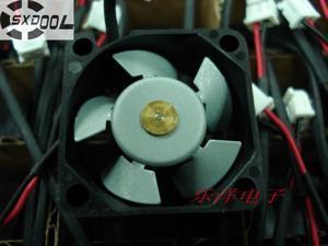 SXDOOL F2510ct 2.5cm 25mm DC 12V 0.04A metal fan double ball micro quiet fan