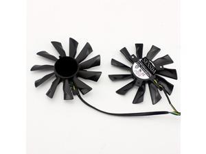PLD10010B12HH 95mm GTX780Ti 780 750Ti 660 760 Fan PLD10010S12HH 40mm 12V 0.40A 4Pin  MSI R9 270X 280X 290 290X Twin Frozr B