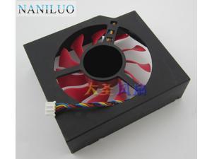 FD8015U12S 75mm 12V 0.5A 4 Wire Video Card Cooler Fan  MSI R7950 AMD Radeon HD 7870 Cooling Fan