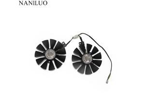 88mm FDC10U12S9-C Fan  ASUS GTX1060 1070 Ti RX 470 570 580 Graphics Card PC Cooling DC 12V GPU Cooing video card coolerrs