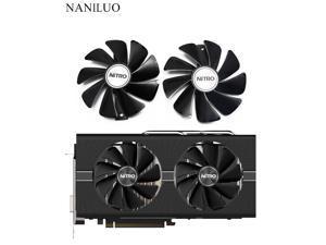 95mm CF1015H12D DC12V Cooler Fan Replace  Sapphire NITRO RX480 8G RX 470 4G GDDR5 RX570 4G / 8G D5 RX580 8G OC