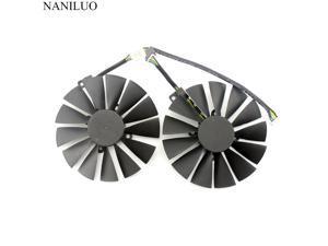 95MM 4Pin  PLD10010S12H Cooler Fan  ASUS ROG STRIX Dual RX 470 580 570 RX470 GTX 1050Ti GTX1080Ti Video Card Replacement