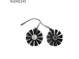 87MM PLD09210S12HH DC 12V 4Pin Cooler Fan Replacement  ASUS ROG STRIX RX 470 570 GTX 1060 1070 1060Ti 3GB Graphics Video Card