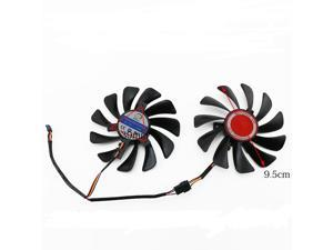 NEW original 95MM CF1010U12S Cooler for XFX AMD Radeon RX 580 590 RX580 RX590/Vega 56/64 Graphics Card Cooling Fan