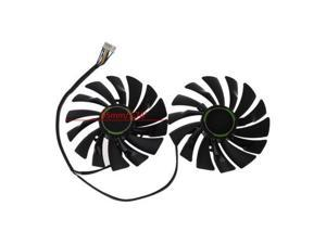 2pcs 95MM PLD10010S12HH 6Pin Graphics Video Card Cooler VGA Fan For MSI GTX970 GeForce GTX 970 GAMING Dual Fans Twin Cooling Fan