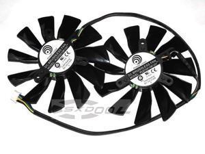 Original Power Logic PLD10015B12H 12V 0.55A 4Wire Graphic card fan For MSI R9 270X R9-280X R9-270X R7-260X GTX770