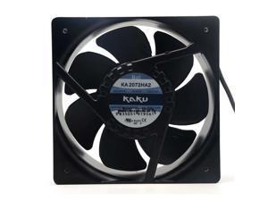 New original Kaku KA2072HA2 AC220V 20.8CM 208*72mm  all-metal high temperature axial waterproof Magnesium alloy frame and leaf